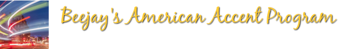 Beejays American Accent Training now Online